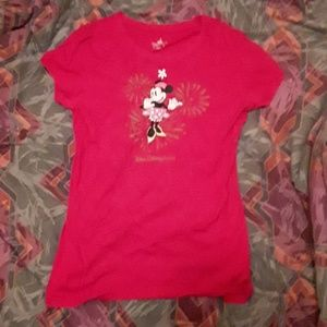 A mini mouse shirt from Disney land